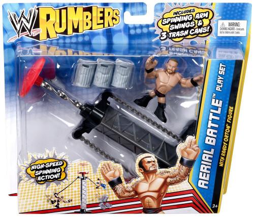 WWE Wrestling Rumblers Series 2 Aerial Battle Mini Figure Playset [With Randy Orton]