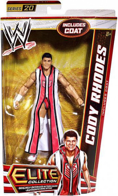 WWE Wrestling Elite Collection Series 20 Cody Rhodes Action Figure [Coat]