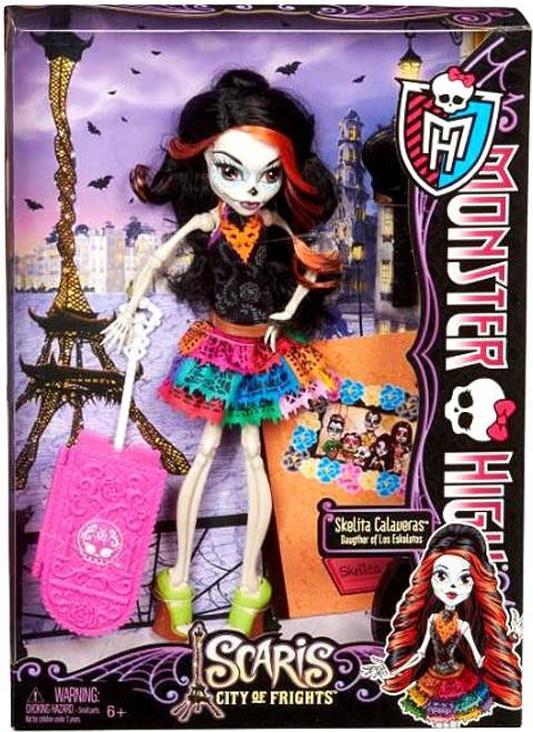 Monster High Scaris City of Frights Skelita Calaveras 10.5-Inch Doll