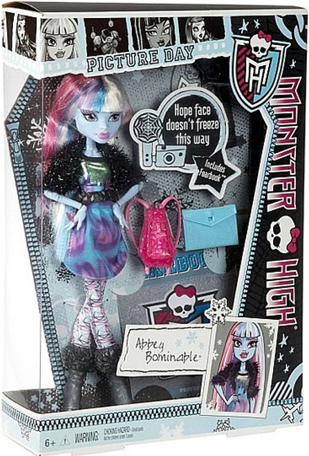 Monster High Picture Day Abbey Bominable 10.5-Inch Doll
