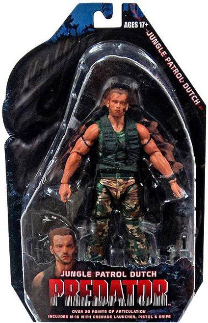 Predator Series 8 Jungle Patrol Dutch Action Figure