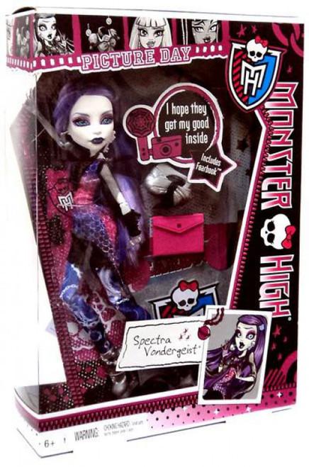 Monster High Picture Day Spectra Vondergeist 10.5-Inch Doll