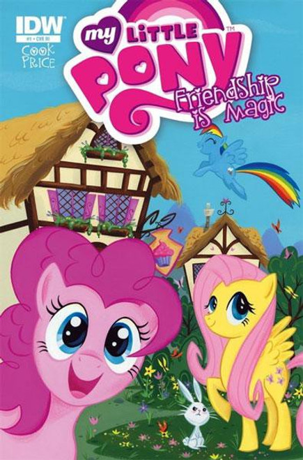 My Little Pony Friendship is Magic #1 Comic Book [Incentive Cover]