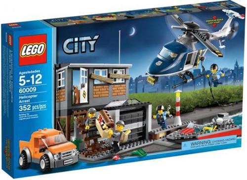 LEGO City Helicopter Arrest Exclusive Set #60009