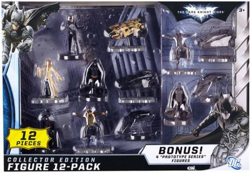 Batman Dark Knight Rises Collector Edition Figure 12-Pack