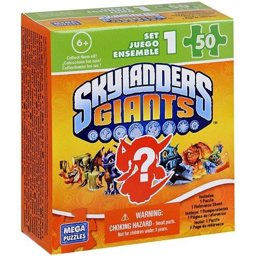 Skylanders Giants 50-Piece Puzzles Mystery Pack Set 1 Puzzle