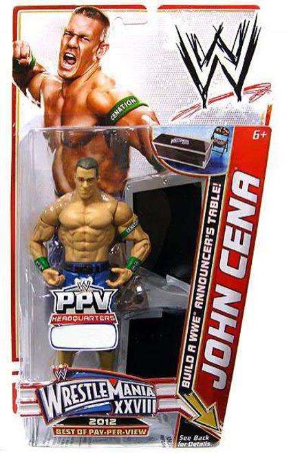 WWE Wrestling Best of PPV 2012 John Cena Exclusive Action Figure