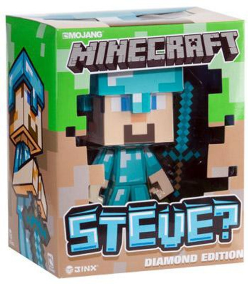 Minecraft Steve 6-Inch Vinyl Figure [Diamond Edition]