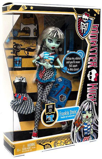 Monster High Classroom Home Ick Frankie Stein 10.5-Inch Doll [No Locker]