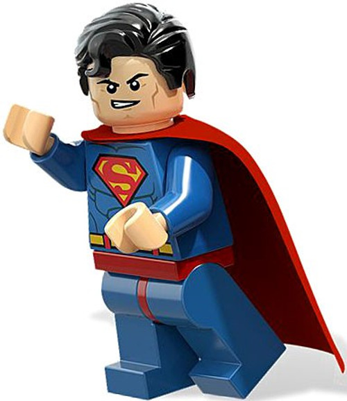 LEGO DC Universe Super Heroes Superman Minifigure [Light Blue Loose]