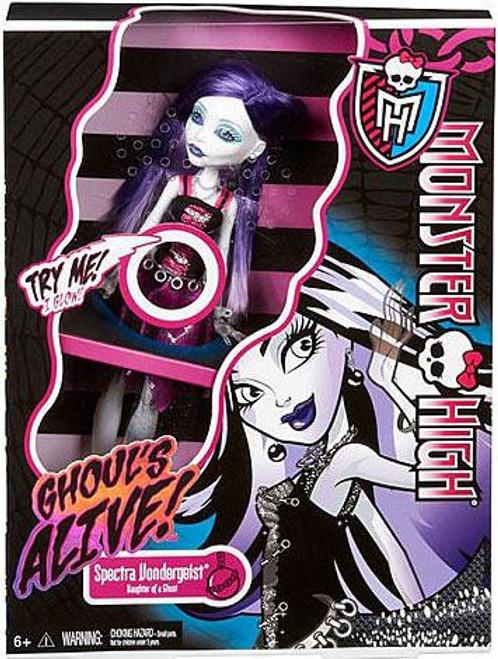Monster High Ghouls Alive Spectra Vondergeist 10.5-Inch Doll