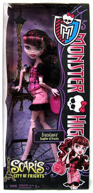 Monster High Scaris City of Frights Draculaura 10.5-Inch Doll
