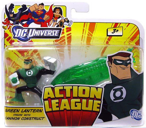 DC Universe Action League Green Lantern with Cannon Construct 3-Inch Mini Figure