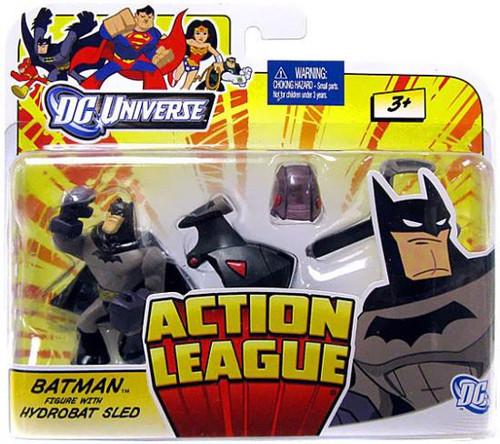 DC Universe Action League Batman with Hydrobat Sled 3-Inch Mini Figure