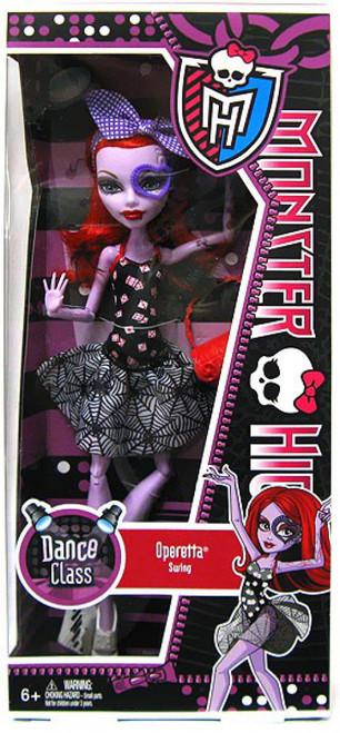 Monster High Dance Class Operetta 10.5-Inch Doll