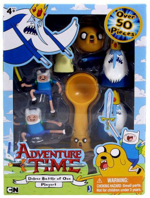 Adventure Time Micro PVC Deluxe Battle of Ooo Figure Playset