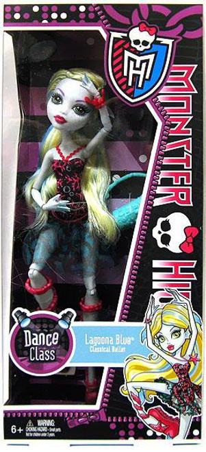 Monster High Dance Class Lagoona Blue 10.5-Inch Doll