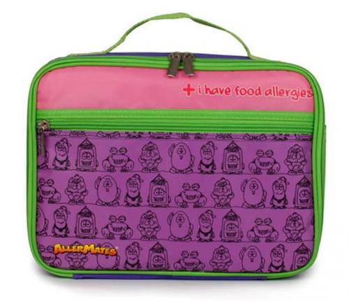 AllerMates I Have Food Allergies Lunch Bag [Purple]