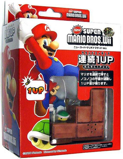 New Super Mario Bros Wii 1Up Mario Mini Scene
