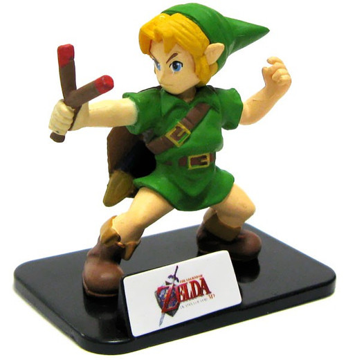 The Legend of Zelda Series Collection Link 2.5-Inch PVC Figure [Ocarina of Time Loose]