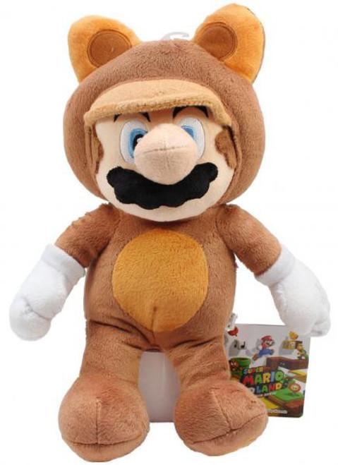 Super Mario Mario 11-Inch Plush [Tanuki Suit]