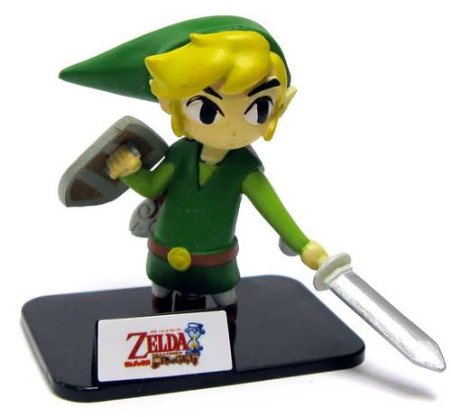 The Legend of Zelda Series Collection Link 2-Inch PVC Figure [Phantom Hourglass Loose]