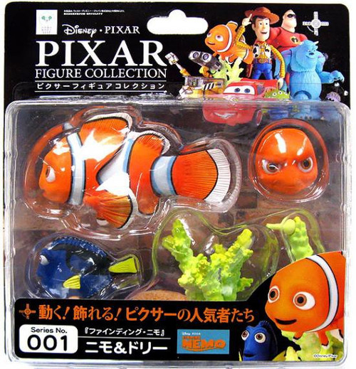 Disney / Pixar Finding Nemo Revoltech Nemo & Dory Figure Set #001