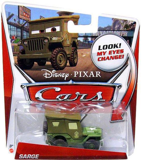 Disney / Pixar Cars Lenticular Eyes Series 3 Sarge Diecast Car