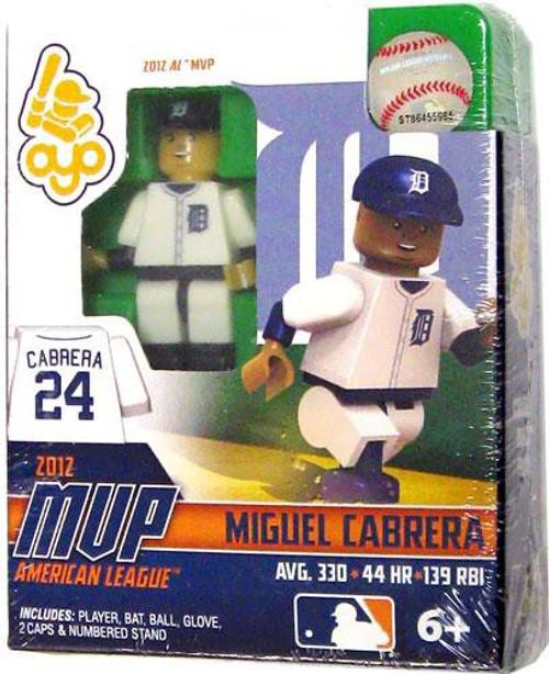 Detroit Tigers MLB 2012 AL MVP Miguel Cabrera Minifigure