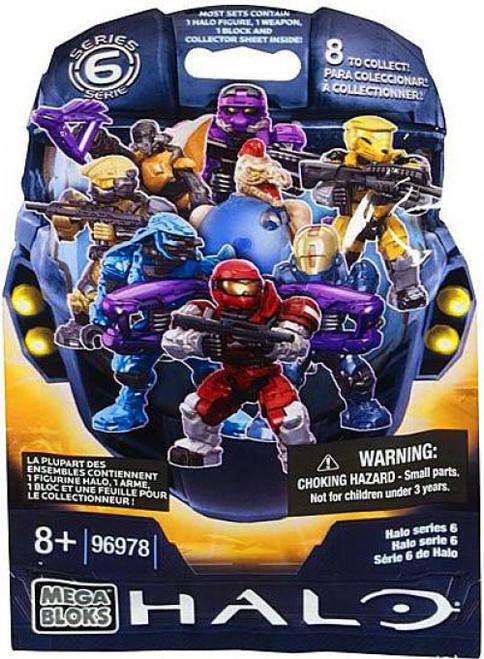 Mega Bloks Halo Series 6 Minifigure Mystery Pack [1 RANDOM Figure]
