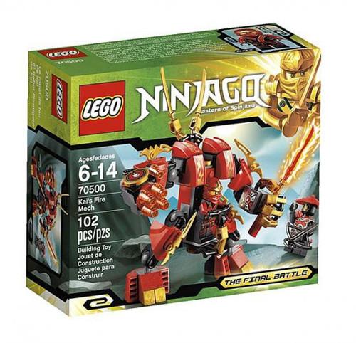 LEGO Ninjago The Final Battle Kai's Fire Mech Set #70500