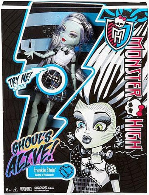Monster High Ghouls Alive Frankie Stein 10.5-Inch Doll