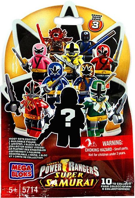 Mega Bloks Power Rangers Super Samurai Series 3 Mystery Pack