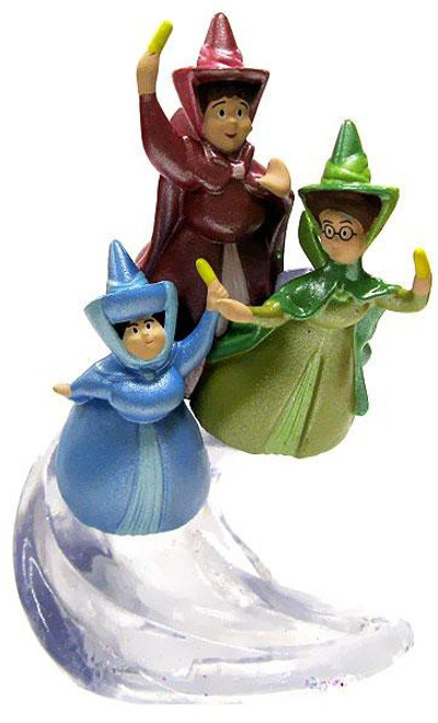 Disney Sofia the First Flora, Fauna & Merryweather Exclusive 3-Inch PVC Figure [Loose]