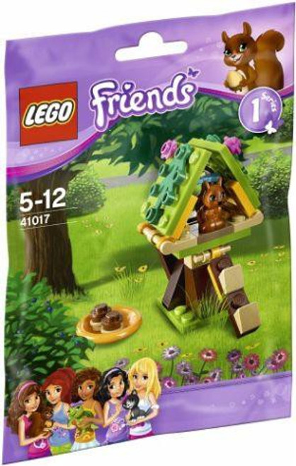 LEGO Friends Squirrel's Tree House Mini Set #41017 [Bagged]