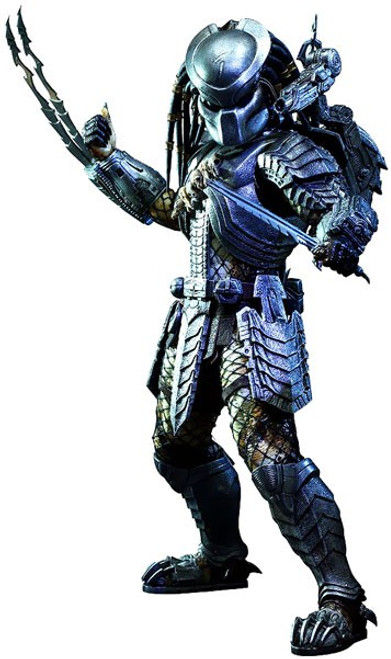 Alien vs Predator Movie Masterpiece Scar Predator Collectible Figure