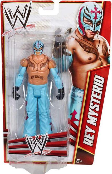 WWE Wrestling Signature Series 2012 Rey Mysterio Action Figure [Powder Blue Pants]