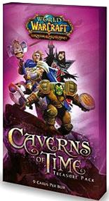 World of Warcraft Trading Card Game Caverns of Time Treasure Pack