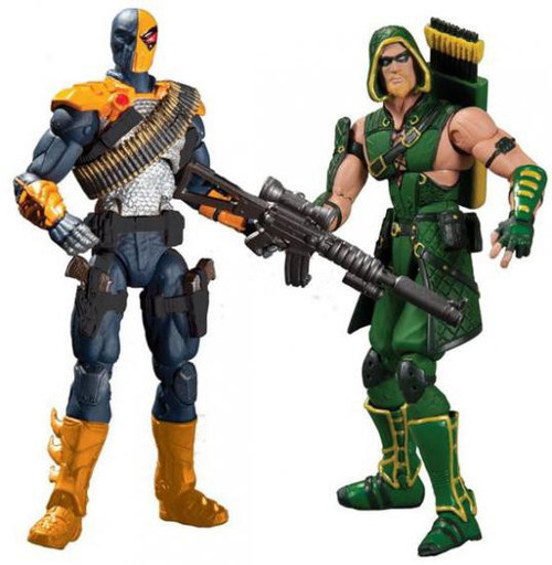 DC Injustice: Gods Among Us Deathstroke & Green Arrow Action Figure 2-Pack