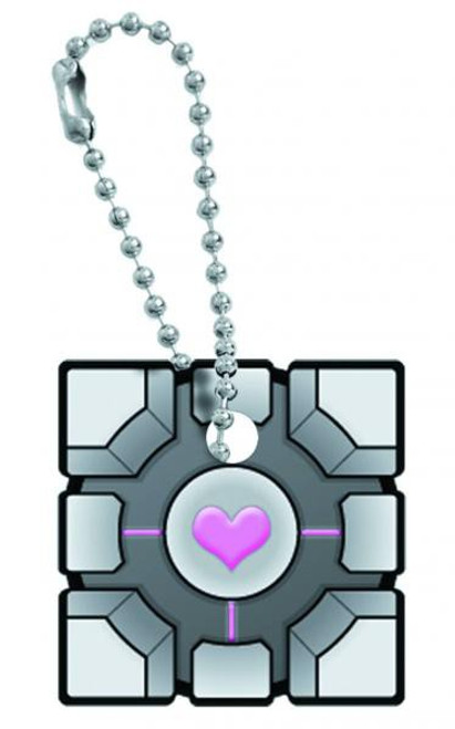 Portal Companion Cube Key Cap