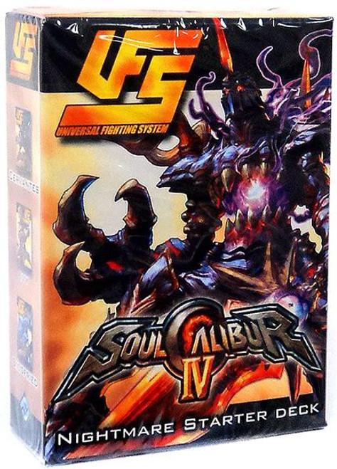 Universal Fighting System Soul Calibur IV Nightmare Starter Deck