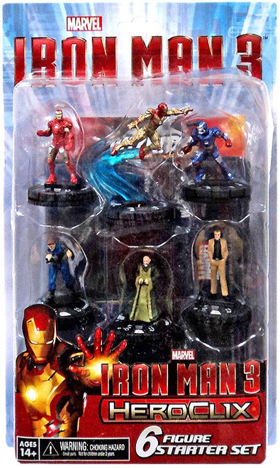 Marvel HeroClix Iron Man 3 Starter Set