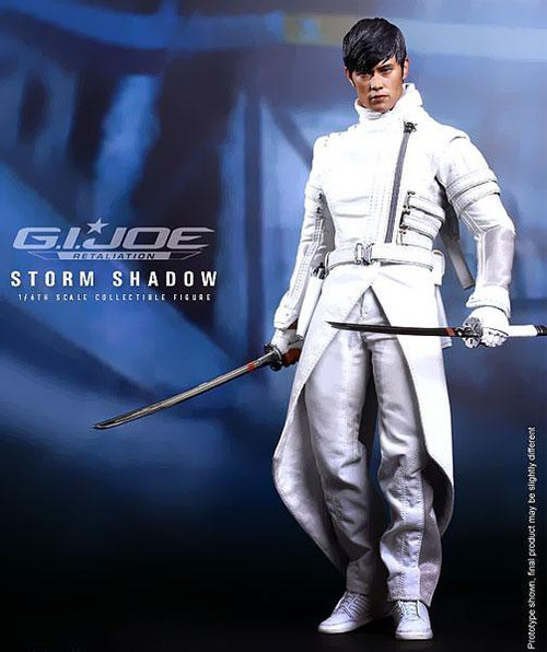 GI Joe Retaliation Movie Masterpiece Storm Shadow Collectible Figure