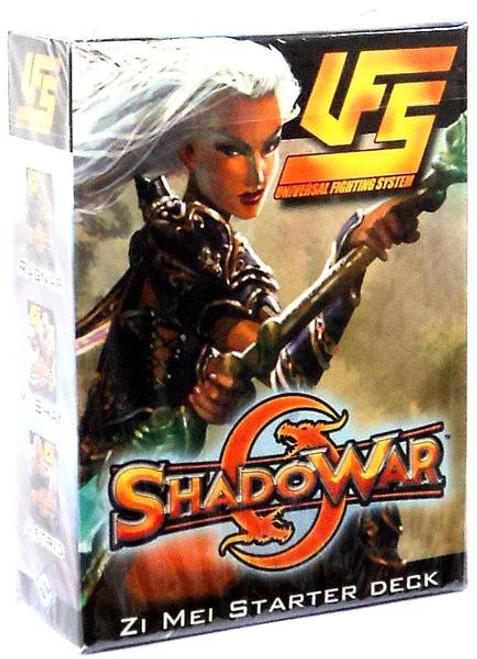 Universal Fighting System ShadoWar Zi Mei Starter Deck