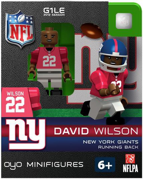 New York Giants NFL Generation 1 2012 Season David Wilson Minifigure
