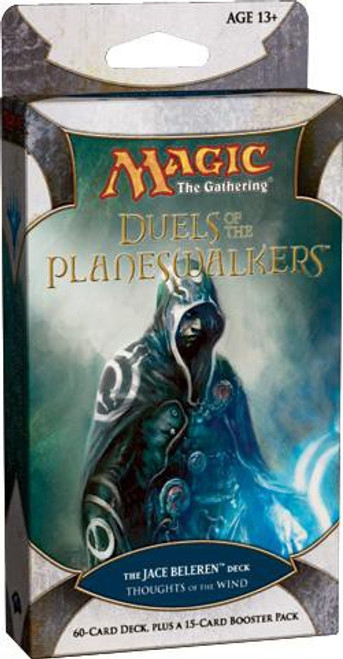 MtG Trading Card Game Duels of the Planeswalkers Jace Thoughts of the Wind Intro Pack