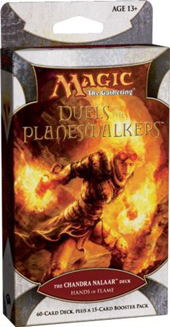 MtG Trading Card Game Duels of the Planeswalkers Chandra Nalaar Hands of Flame Intro Pack