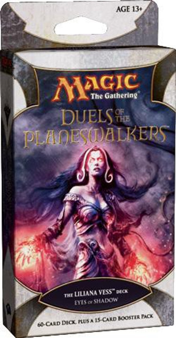 MtG Trading Card Game Duels of the Planeswalkers Liliana Vess Eyes of Shadow Intro Pack