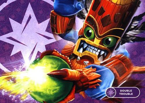 Skylanders Giants 50-Piece Puzzles Double Trouble Puzzle