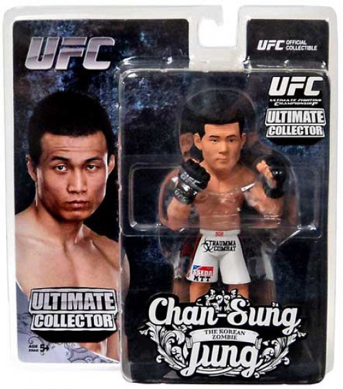 UFC Ultimate Collector Series 12 Chan Sung Jung Action Figure [The Korean Zombie]